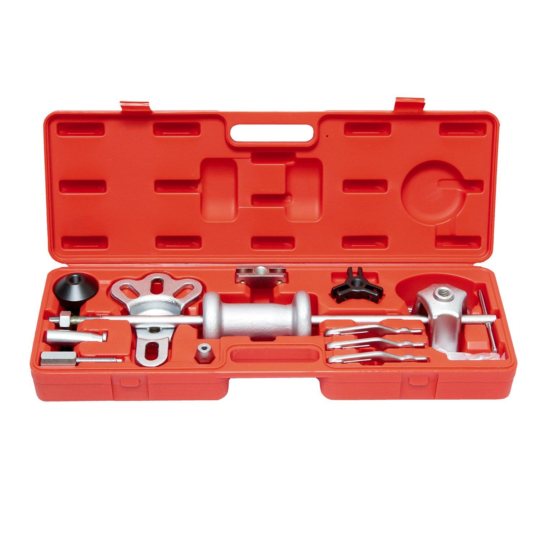 ABN Slide Hammer Puller Set Wheel Bearing Removal Tool w/Slide Hammer Attachments – Wheel Hub Puller Dent Repair Kit by ABN (Image #5)