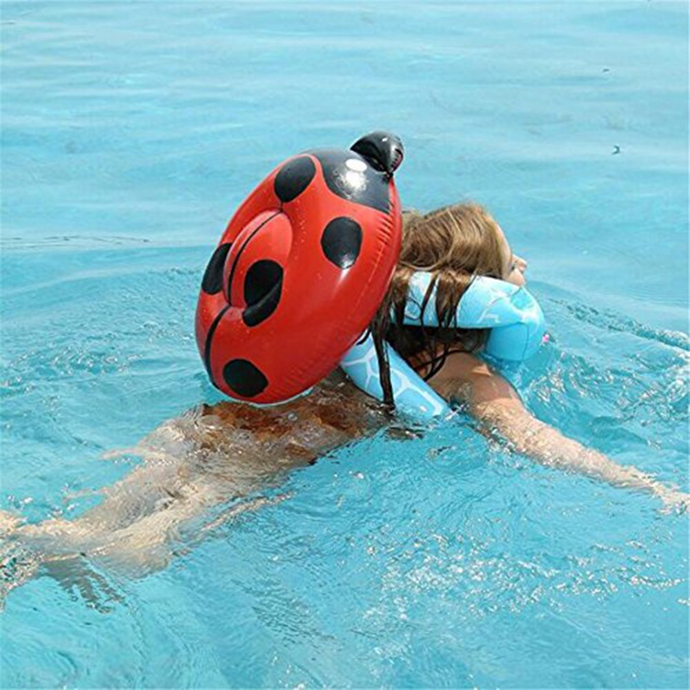 Pool Float Inflatable Arm水泳リングライフベストジャケットforキッドBoys Girls to learn水泳トレーニングツール Beatles Pattern  B07DDGB94P