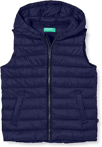 United Colors of Benetton Boy's Gilet Coat: Amazon.co.uk