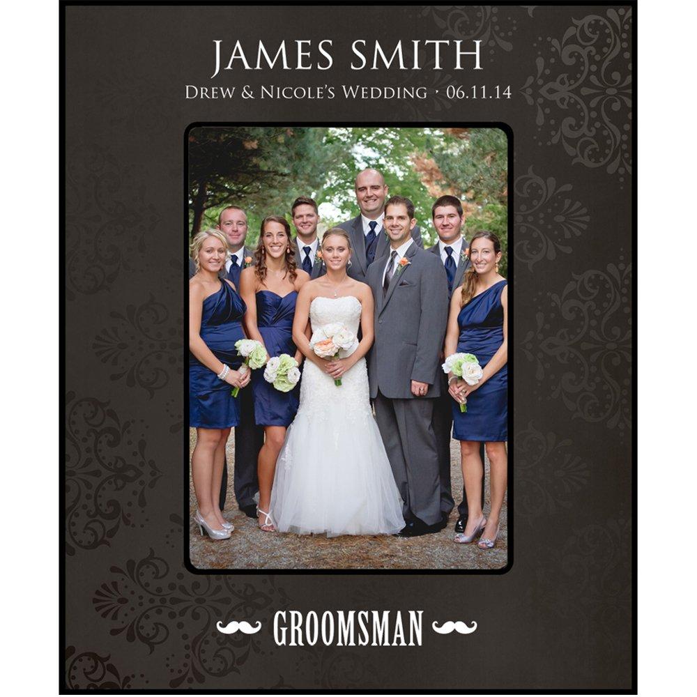 Groomsmen Bilderrahmen Hochzeit Party Geschenke personalisierte ...