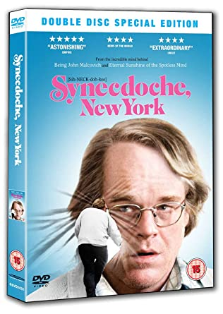 synecdoche new york dvd 2008 amazon co uk philip seymour