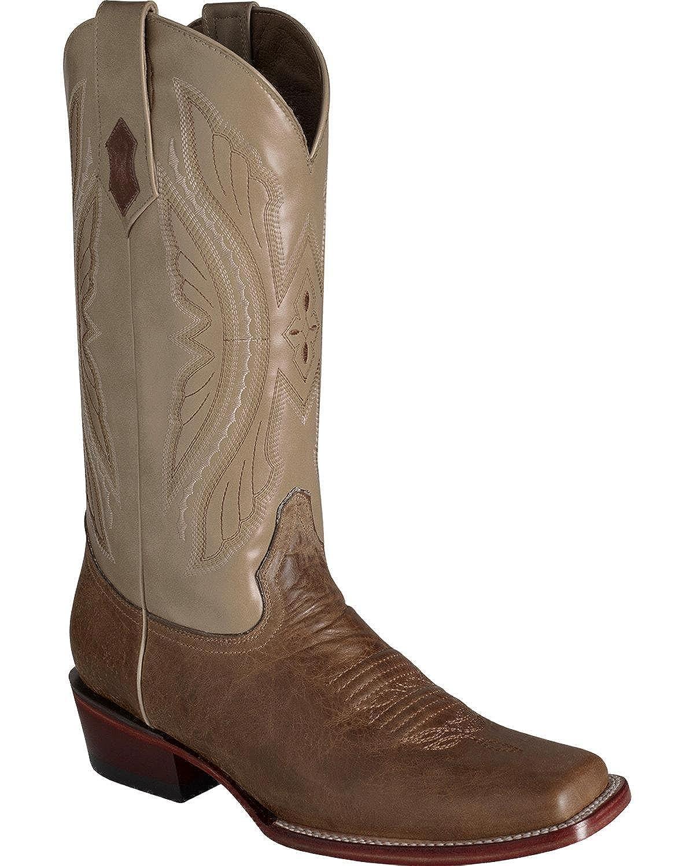 Ferrini Men's Print Gator Black Western Boot