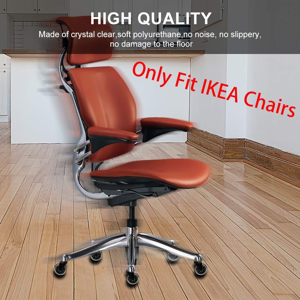 Amazon.com: Ruedas de repuesto para sillas IKEA 8T8 de 3.0 ...