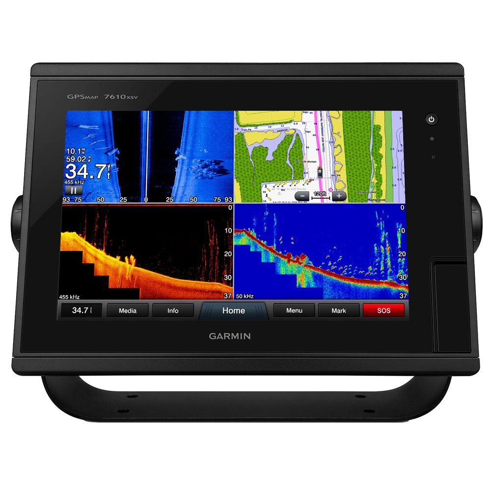 "Amazon.com: Garmin GPSMAP 7610xsv 10"" MFD/Sonar US Maps Fish Finders: Cell  Phones & Accessories"