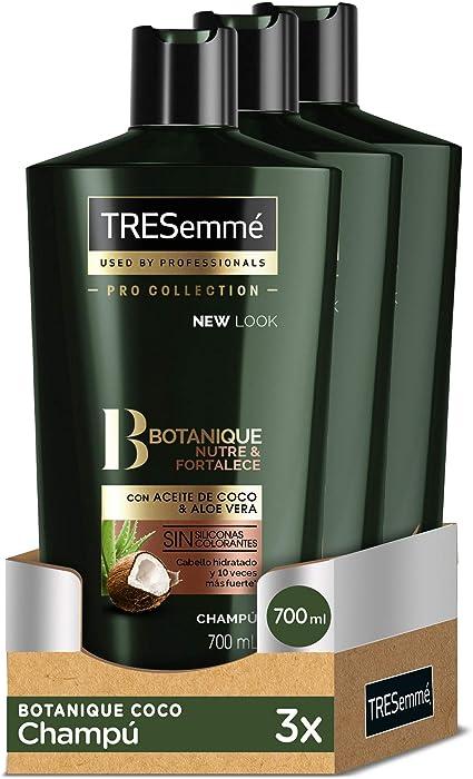 TRESemmé Champú Botanique Coco - Pack de 3 x 700 ml (Total: 2100 ...