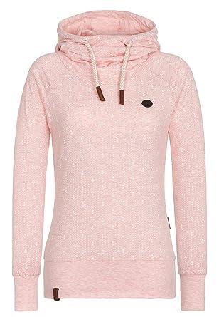 951998018536 Naketano Women s Hoody Mandy Ankerdizzel V Candy Muschi Melange, S at  Amazon Women s Clothing store