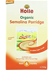 Holle Organic Baby Porridges - Semolina Porridge - Single Carton, 250g
