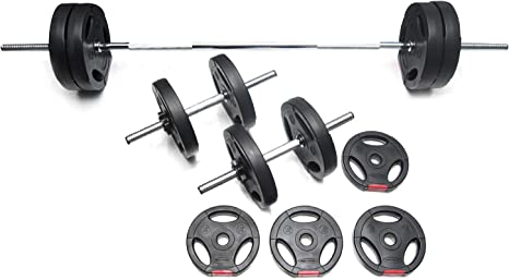 Bodypower 52kg Tri-Grip Vinyl Weight Set