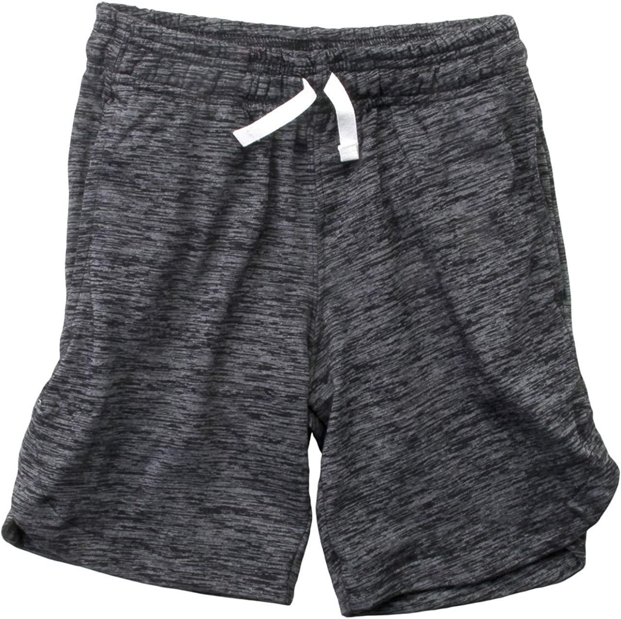 Wes and Willy Black Cloudy Short