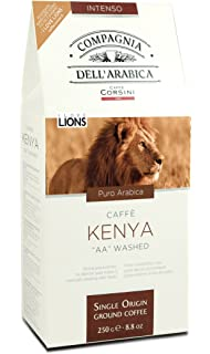 Compagnia dellArabica Kenya, Café molido - 3 de 250 gr. (Total