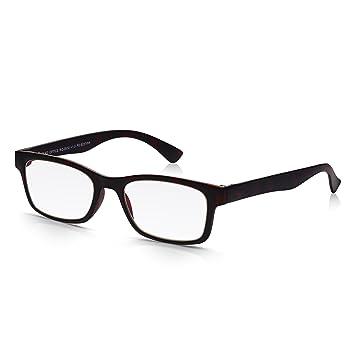 df8c29933ed Read Optics Tortoiseshell Reading Glasses for Men and Women  Retro Italian  Style in Extra Thin