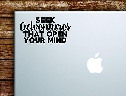 Amazon Seek Adventures That Open Your Mind Quote Laptop Apple