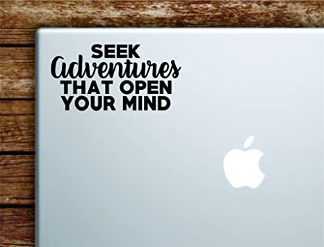 Amazon Seek Adventures That Open Your Mind Quote Laptop Apple