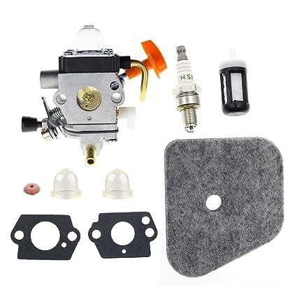 Amazon.com: Carburador de carbono para Stihl FS90 FS100 ...