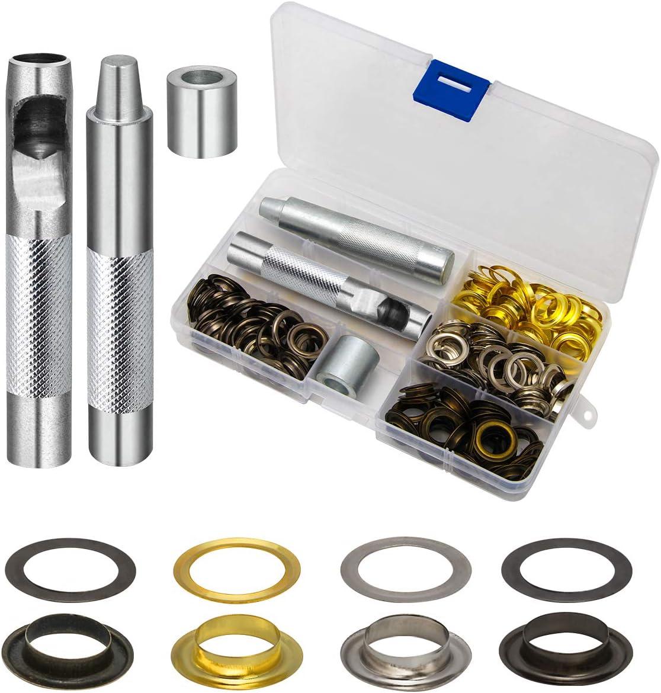Grommet Tool Kit Silver Setting and 1// 2 Inch Inside Diameter