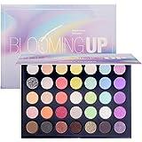 Beauty Glazed Eye Makeup Palette Glitter Matte and Shimmer Highlighter Eyeshadow Makeup Palette 35 Colors Make Up…