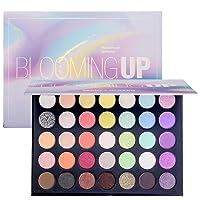 Beauty Glazed Eye Makeup Palette Glitter Matte and Shimmer Highlighter Eyeshadow...