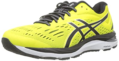 sports shoes c92ab 2a3ae ASICS Gel-Cumulus 20 Chaussures de Running Compétition Homme, Multicolore  (Lemon Spark