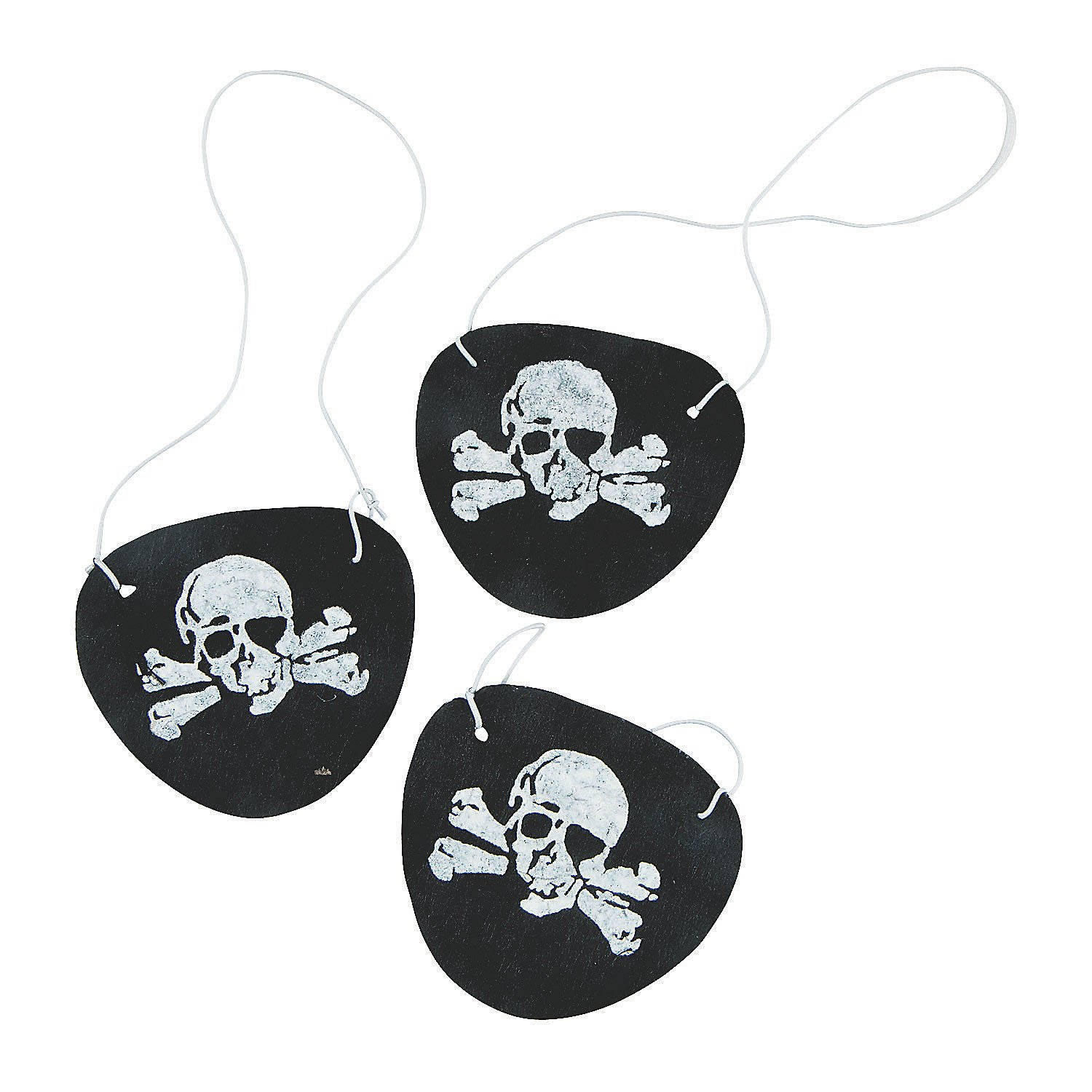 Felt Pirate Eye Patches 1 Dozen Fun Express B004EKWB0E