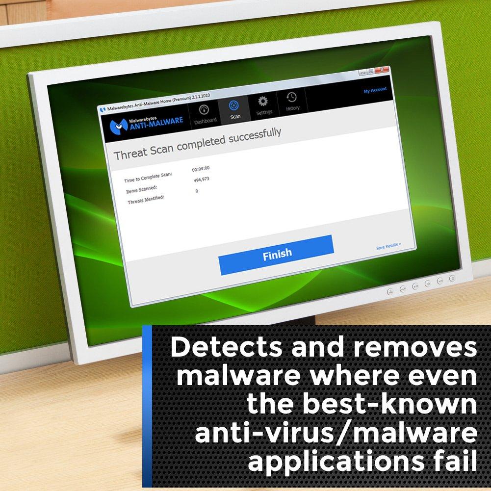 Malwarebytes Anti-Malware Premium 3 0 - 3 PCs / 1 Year