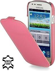 StilGut, UltraSlim, pochette exclusive pour le Samsung S3 mini i8190, rose