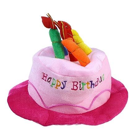 Toyvian Sombrero de Pastel de cumpleaños Sombrero de ...