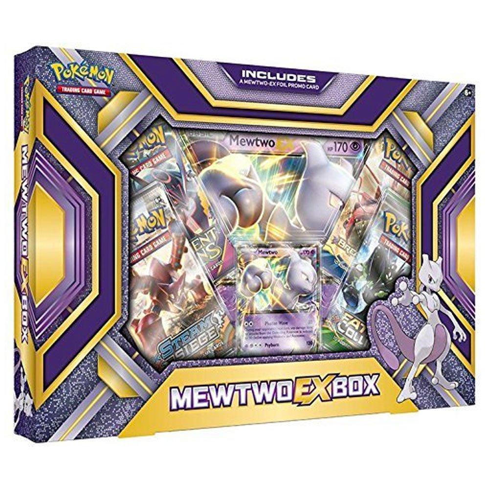 pokemon tcg mewtwo ex box amazon co uk toys u0026 games