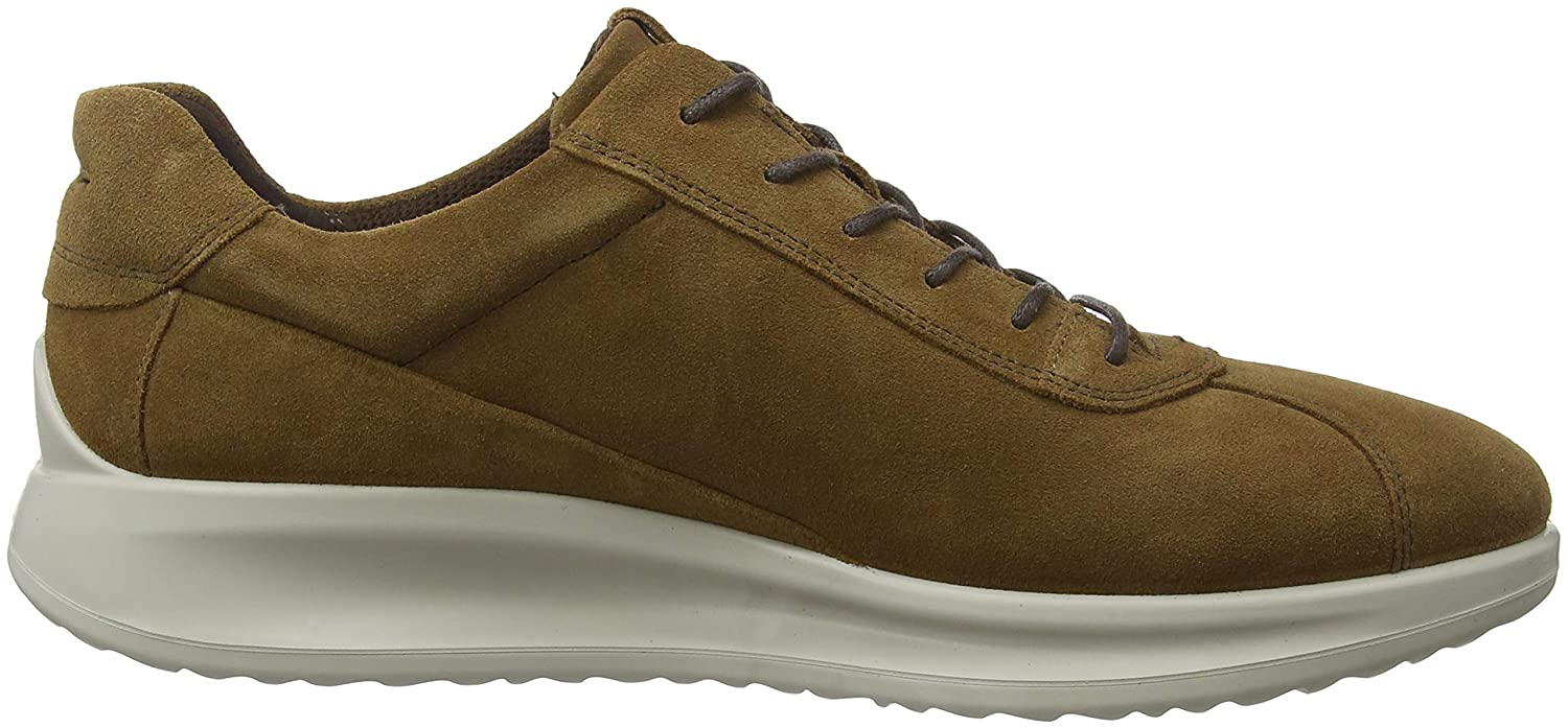 Ecco Men's Aquet Tie Oxford 39 EU M EU 39 (5-5.5 US)|Camel Suede Citrus B0793FCFRJ 2383be