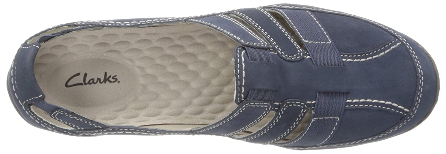 premium selection e4a15 37827 ... Clarks Women s Haley Stork Loafer 7 M M M US Navy B00E4F8Y14 ca9220
