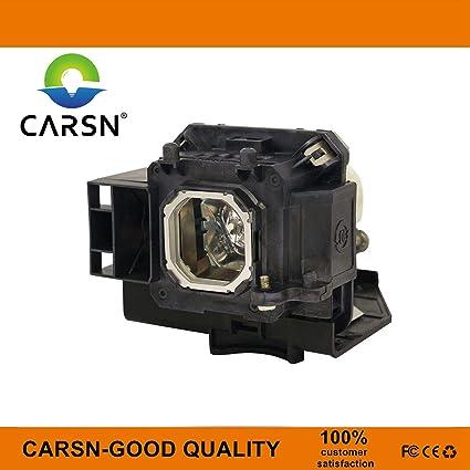 CARSN NP15LP - Lámpara de Repuesto para proyector NEC M260X M260W ...
