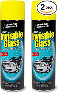 Invisible Glass 91164-2PK Premium Glass Cleaner