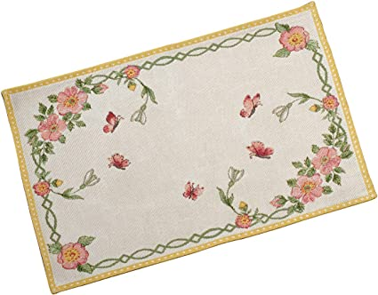Multicolore 32 x 48 cm Poliestere Cotone Villeroy /& Boch Colourful Spring Tovaglietta Bucaneve