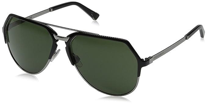 41b42768365 D G Dolce   Gabbana Men s 0DG2151 Aviator Sunglasses