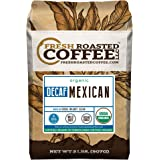 Organic Mexican Swiss Water Decaf Coffee, Whole Bean Bag, Swiss Water Processed, Fresh Roasted Coffee LLC. (2 LB.)