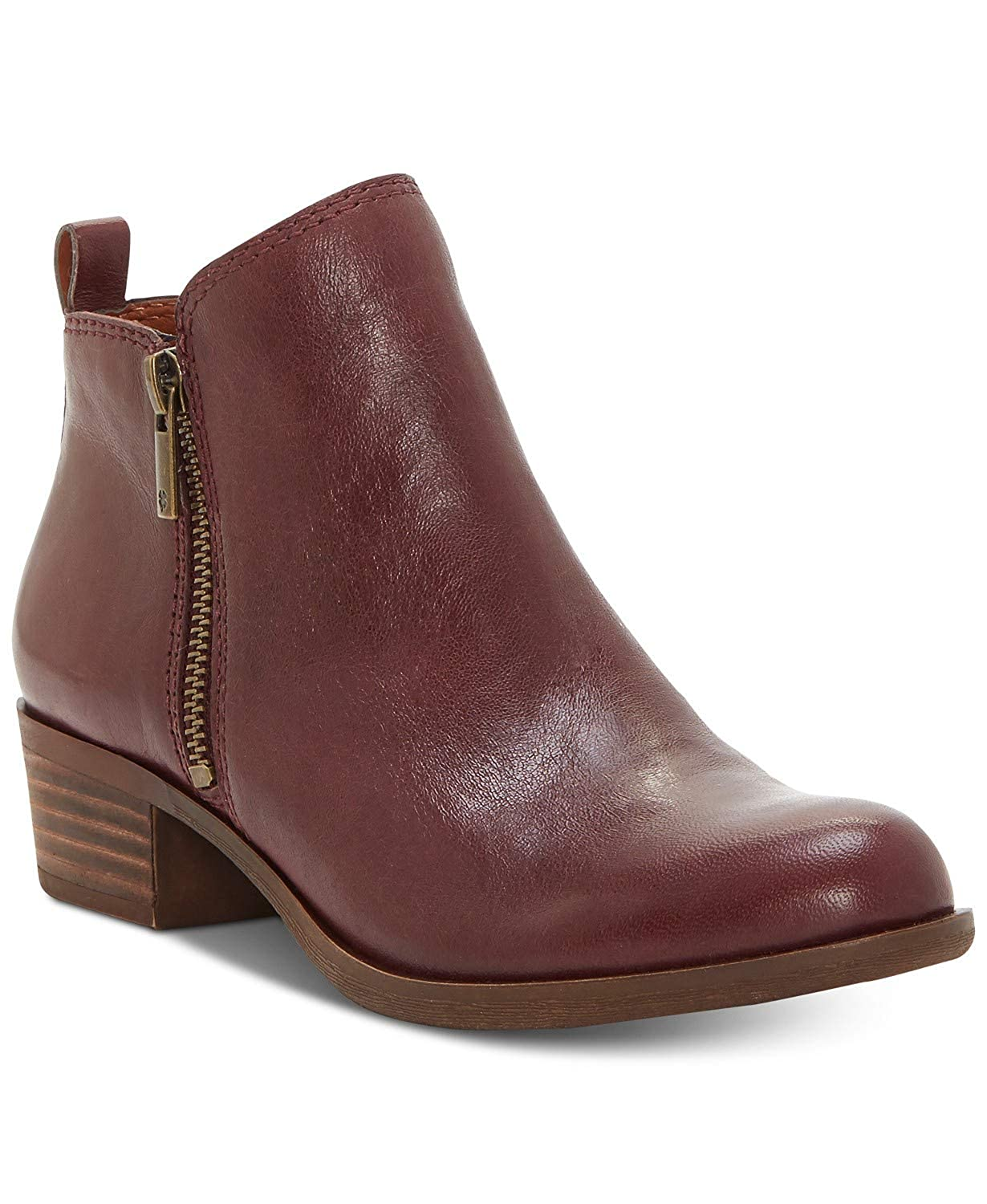 Raisin Lucky Brand Women's Basel Ankle Boot