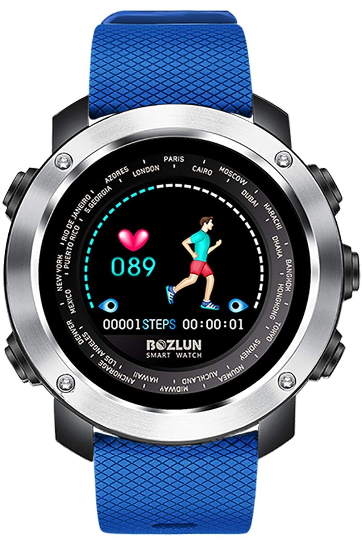 Amazon.com: Smart Watch Color Screen Bluetooth Pedometer ...
