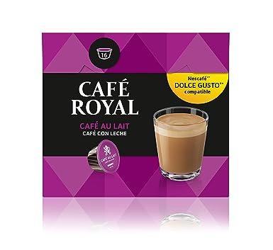 Café Royal Café au Lait 48 cápsulas compatibles con Nescafé* Dolce Gusto* (Pack