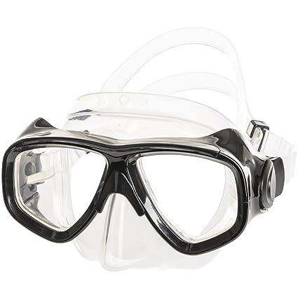 d44c3cd7ace IST M80 2 Lens Snorkel Diving Mask with Optional Prescription Lenses