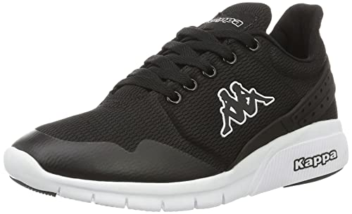 New York, Zapatillas Unisex Adulto, Negro (Black/White), 39 EU Kappa