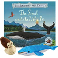 The Snail and the Whale Book with Puppets
