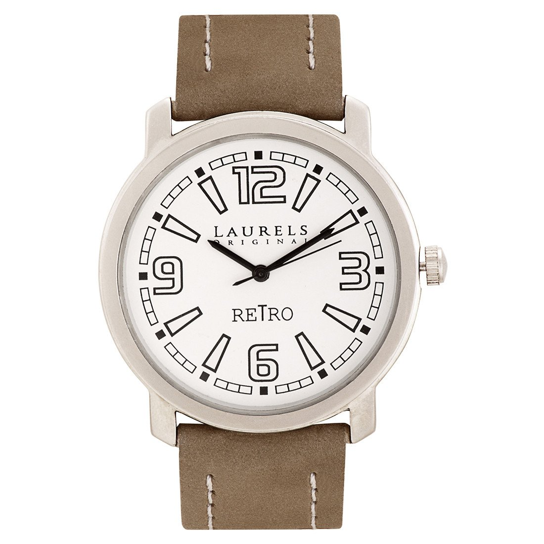 Buy Laurels Retro 1 Analog Silver Dial Mens Watch Lo Ret 101 Voucer Shodaqo Nuril Online At Low Prices In India