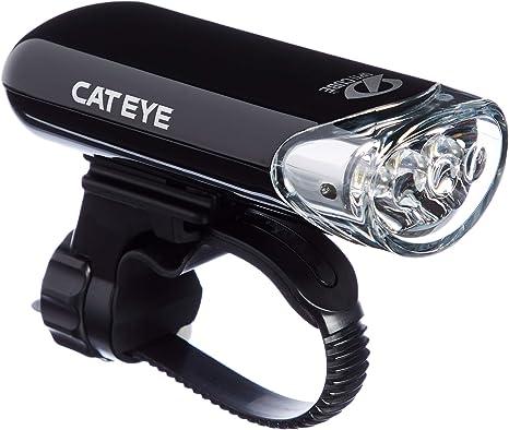 Cat Eye Hybrid HL-EL020 Bicycle Front Light Solar//Battery Power OptiCube