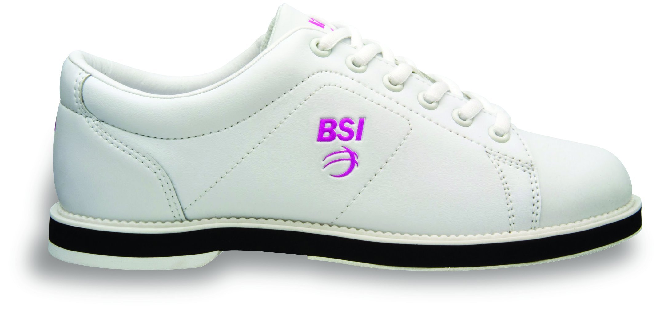 BSI Women's #650 Bowling Shoes, White, Size 11.0