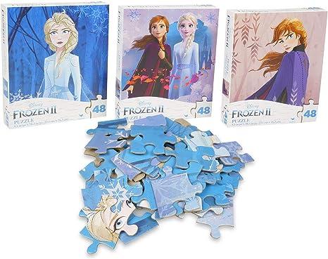 Ravensburger Disney Frozen 2 x 24 pièces jigsaw puzzles set Anna /& Elsa