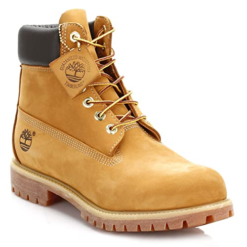 2ca671edf912 Mens Timberland Icon 6-Inch Premium Boots - Wheat Nubuck - 8  Amazon.co.uk   Shoes   Bags