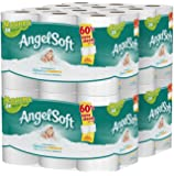 Angel Soft Toilet Paper, Bath Tissue, 48 Double Rolls (4 Packs of 12 Rolls)