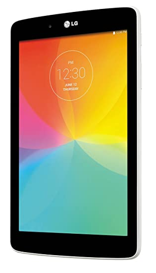 LG G Pad F 7 0 LK430 8GB, Quad-Core Processor, Android 5 0 Lollipop Tablet  PC w/ 5MP + Front-Facing Camera - White/Black