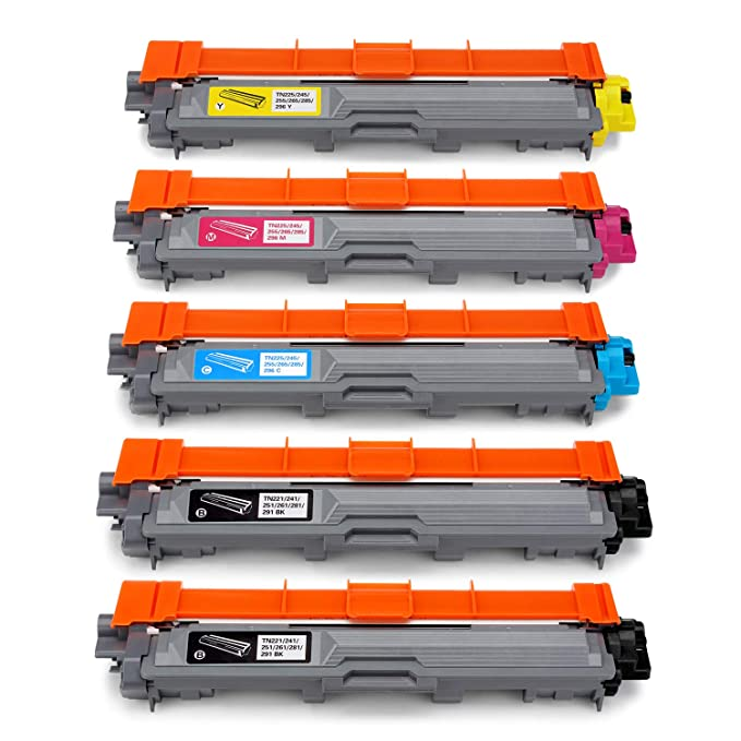 112 opinioni per JARBO TN241 TN245 Compatibile per Brother TN-241 TN-245 Toner (2 Nero, Ciano,