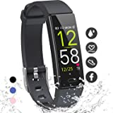 K-berho Fitness Tracker HR,Activity Tracker Watch with Heart Rate Monitor, Sleep Monitor, Smart Fitness Band with Step…