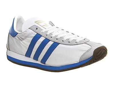 Adidas Originals Country OG White & Blue Trainer UK 8 ...